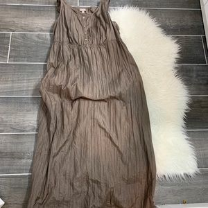 J Jill sleeveless maxi dress